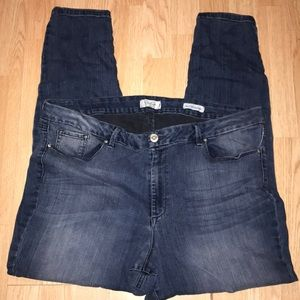 Jessica Simpson Curvy High Rise Skinny Jeans 24W